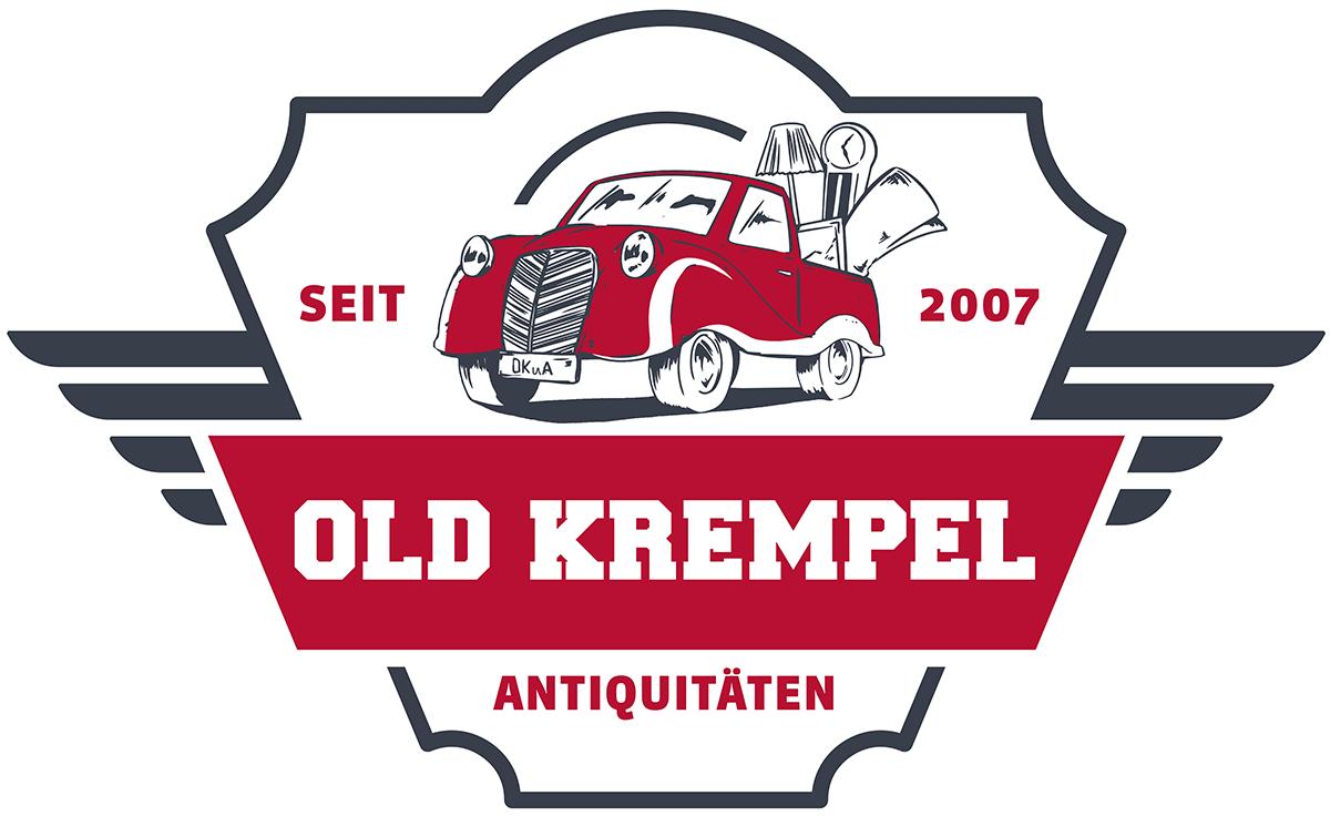 Logo Old Krempel Antiquitäten, Trödel und Gebrauchtwaren Dessau